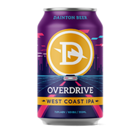 Dainton Overdrive West Coast IPA 4 pack