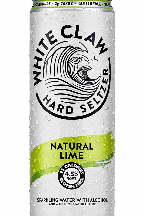 White Claw Natural Lime