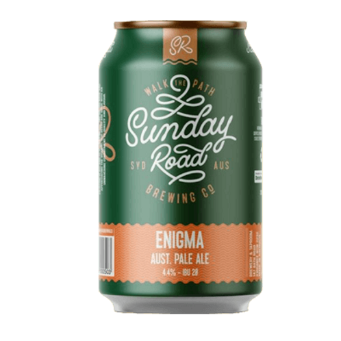 Sunday Road Enigma Pale Ale 4 pack