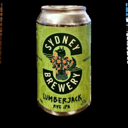 Sydney Brewery Lumberjack Rye IPA 4 pack
