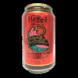 Grifter Serpents Kiss Watermelon Pilsner 4 pack