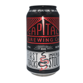 Capital First Tracks Imperial Stout 4 pack