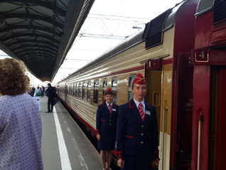 The Grand Express to St Petersburg