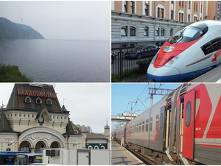 New Publication: Trans-Siberian Railway's Rossiya - USSR vs Russia