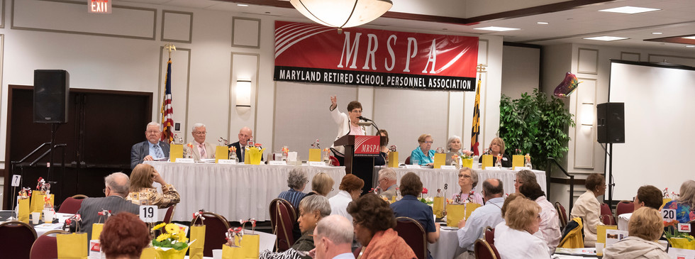 President Fay Miller Addressing the Assembly