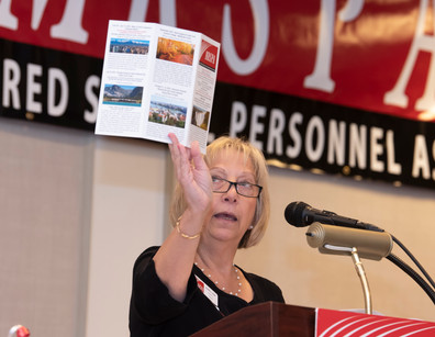 Travel Chair Judy Adler Reiff from Montgomery County
