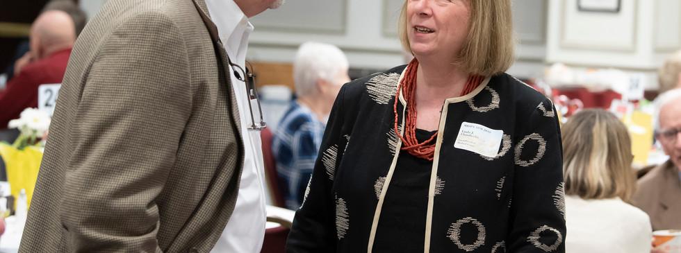 Bob Kanach, Anne Arundel County, and Linda Chamberlin, Harford County