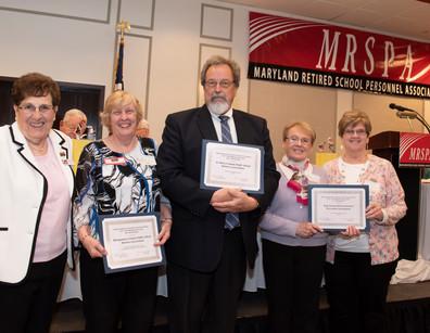 Membership Awards for Largest Percentage Increase