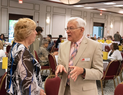 Dr. Carol Dahlberg, Montgomery Co., and Past President Max Muller from Anne Arundel and Harford Counties