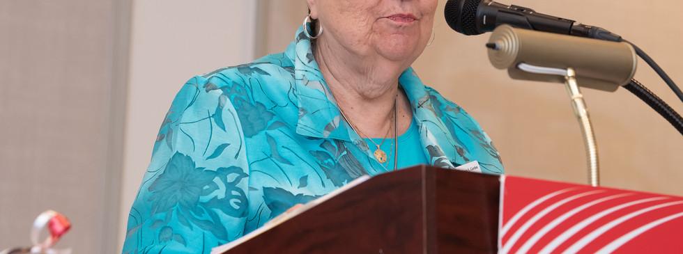 Secretary Nancy Gordon from Frederick County