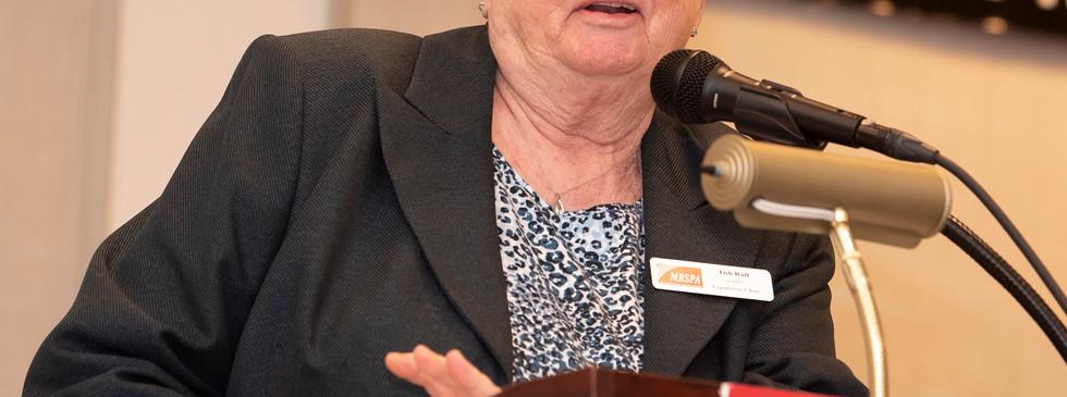 Legislative Chair Tish Raff from Frederick County