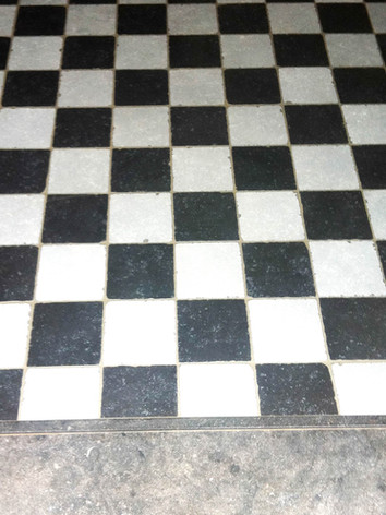 Dambordpatroon- klein