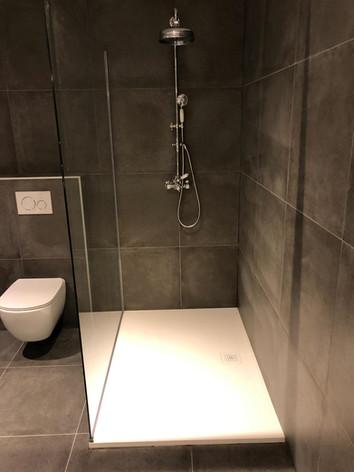 Resultaat badkamer (totale renovatie)