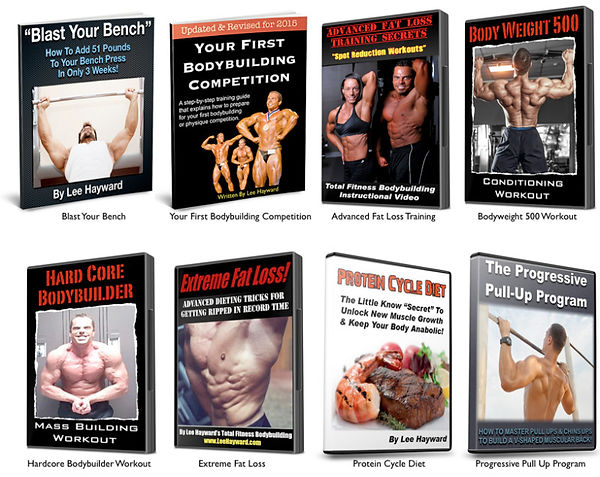 Bonus Bodybuilding Training & Nutrition Programs!