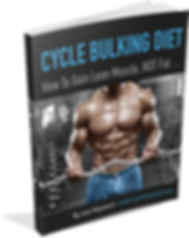 Cycle Bulking Diet Book
