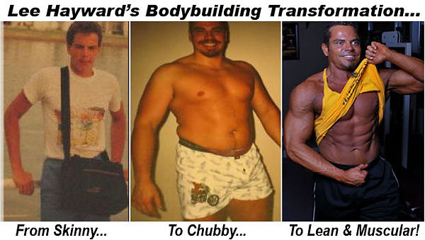 Lee Hayward's Bodybuilding Transformation