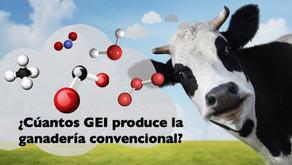 Granjas de insectos vs. Ganadería convencional: perspectiva de gases de efecto invernadero