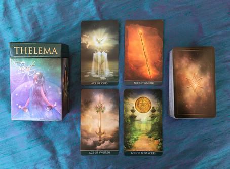 Thelema Tarot - My New Sword Deck!