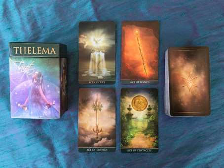 Thelema Tarot - My New Sword Deck!