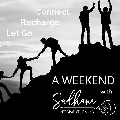 A Weekend Retreat with Sadhana