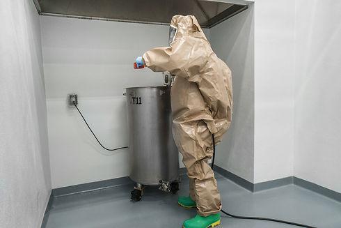 dermatology cytotoxic suit