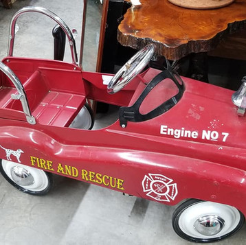 vintage store melbourne Florida Fire Truck Toy.jpg