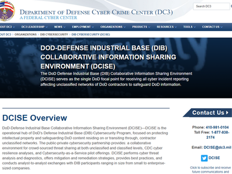 From Federal News Network: DoD group partnering with DIB to look for cyber vulnerabilities