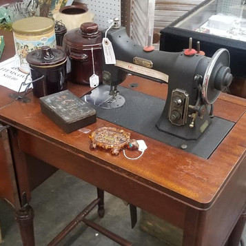 vintage store melbourne Antique Sewing machine 1.jpg