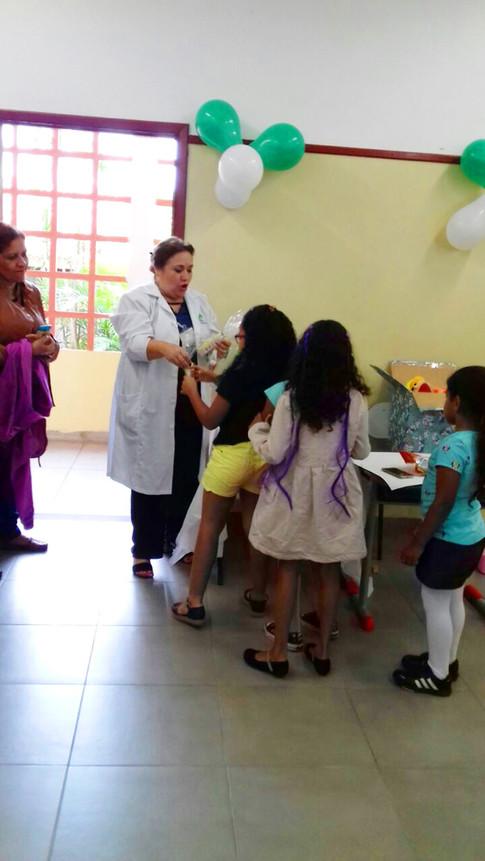 1ª Jornada da Cidadania - Família na Escola - Rotary + Polícia Militar- EE Profª Marisa de Mello