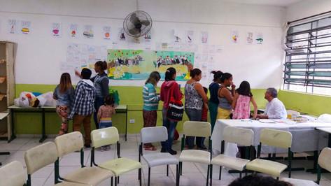1ª Jornada da Cidadania-Dia da Familía na Escola - EE Francisco Mignone- Rotary Clube + Polícia Militar