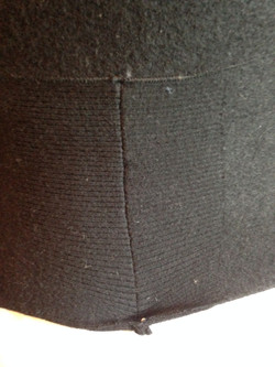 Sweater Sleeve cuffs