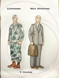 Lieutenant Male Attourney 9 Circles