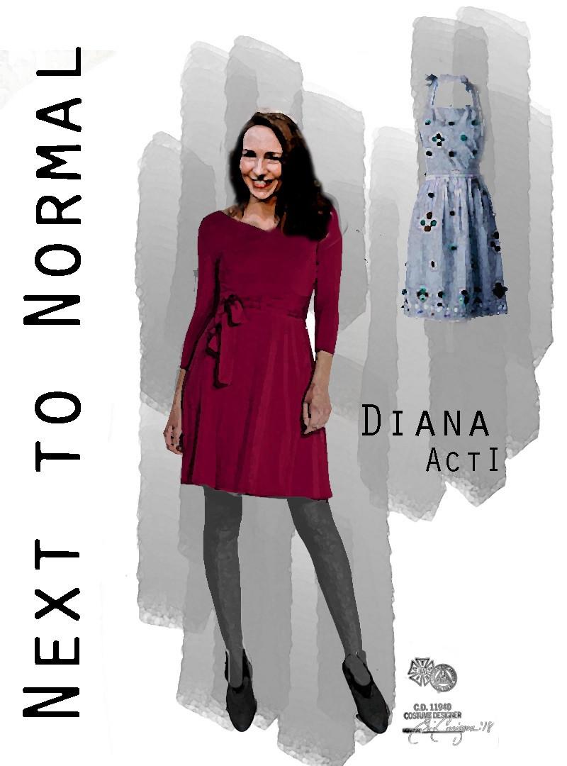DIANA ActI Red Dress