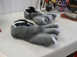 Grinch- Puppy Feet