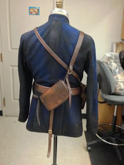 Leather Purse and Rifle Baldricks