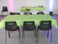 tables rectangulaires 6 et 4