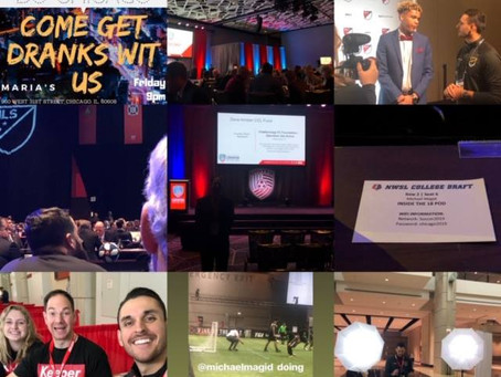 Unbelievable week at United Soccer Coaches #CHI19 Convention