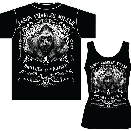 JCM Brother of Bigfoot Men's T and Women's Tank and T