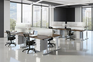 SS41: person 24 x 72 sit/stand workstation