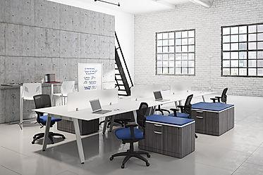 BD51A: 6 person workstation