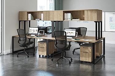 BD36A: 4 person workstation