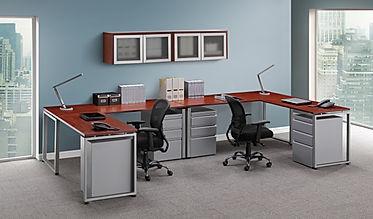 L24.8C: 2-person workstation