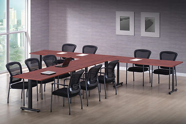 CT08.5A: Flextable laminate conference table