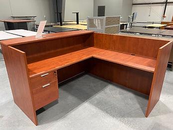 R05A: Single reception desk
