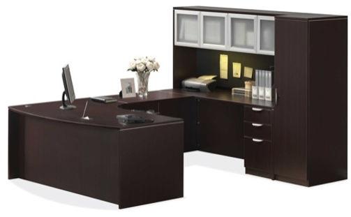 U16A: Ergo Bow front workstation