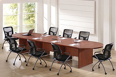 CT08.4A: 14' racetrack conference table
