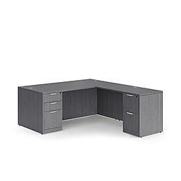 L07.4A: Deluxe L-desk