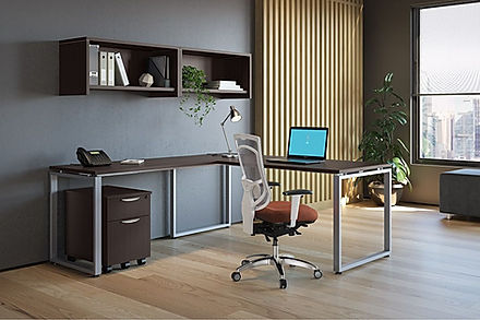 L10.5A: L-desk workstation