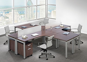 BD33B: 4 person workstation