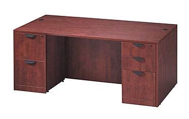 SD06A: Deluxe Double Pedestal Desk